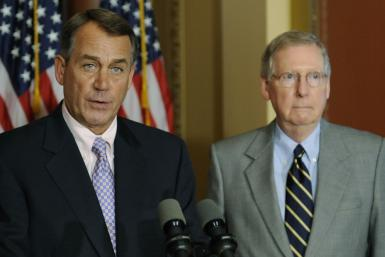 Boehner and McConnell Endorse Mitt Romney: Will Gingrich Take the Hint?