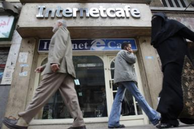 Internet Cafe In Egypt