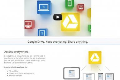 Google Drive Vs. iCloud, Skydrive And Dropbox: Where Would Your Personal Data Be More Secure?