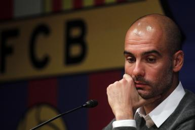 Watch a video of the announcement. that Pep Guardiola is stepping down as coach of Barcelona, with his assistant Tito Vilanova to take over.