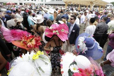 Hats From The 2012 Kentucky Derby