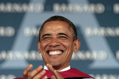 Obama Champions Women's Rights at Barnard Commencement: 'It's Tough Out There, But I Know You Are Tougher""