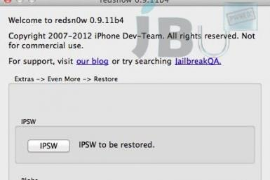 How To Use Updated RedSn0w 0.9.11b4 to Jailbreak iOS 5.1.1 Tethered on iPhone, iPad And iPod Touch (A4 Devices)
