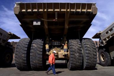 Super Pit, gold mine in Australia run by Barrick Gold and Newmont Mining