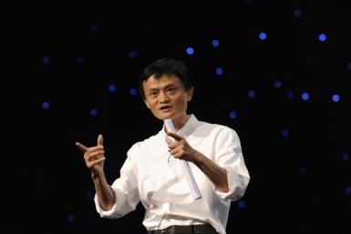 Alibaba Group Chairman and Chief Executive of Alibaba Group Jack Ma delivers a speech at the 8th Netrepreneur Summit in Hangzhou, Zhejiang province September 10, 2011.