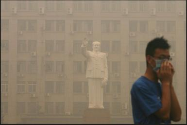 Smog Descends on China