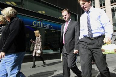 Bankers Outside Citigroup