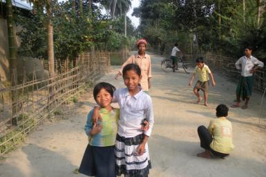 Bodo children in Assam