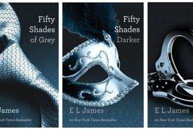 """Fifty Shades"" Book Covers"