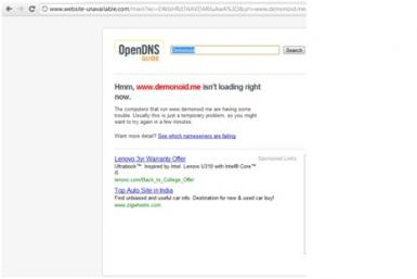 Demonoid DDoS Attack