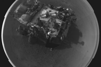 NASA Curiosity Rover's Self Potrait