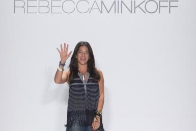 Rebecca Minkoff unveiled her pool party-themed Spring 2013 collection inspired by photographer Slim Aarons at Mercedes-Benz Fashion Week in New York on Friday with Lauren Conrad, AnnaSophia Robb and Olympic swimmer Ryan Lochte seated front row. The colle