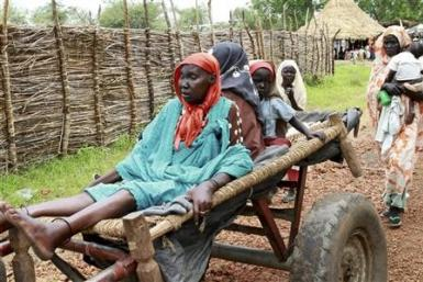 Sick people in Sudan