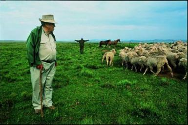 Afrikaner farmer in South Africa