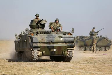 Turkey Troops Near Syrian Border