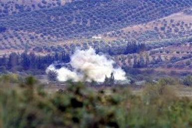 Syrian Shells In Turkey