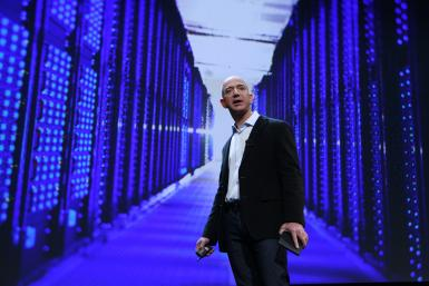 Amazon.com CEO Jeff Bezos