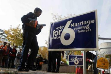 Maryland Gay Marriage Ballot Initiative