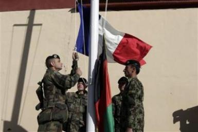 French Soldiers Department Afghanistan
