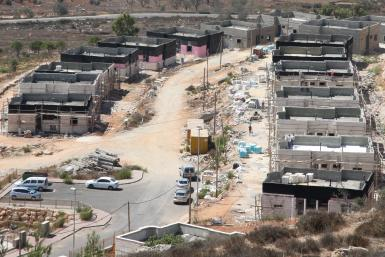Israeli Settlement, West Bank