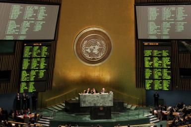 Palestine State Vote At UN
