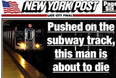 New York Post Cover Photo
