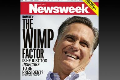 Newsweek Wimp Issue With Mitt Romney