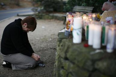 Newtown Woman Praying