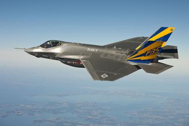 F-35 Lightning II multirole stealth fighter