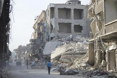 Syria Douma damage 21 Dec 2012 2