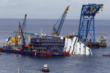 Costa Concordia Salvage