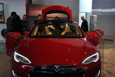 Tesla Model S electric luxury sedan