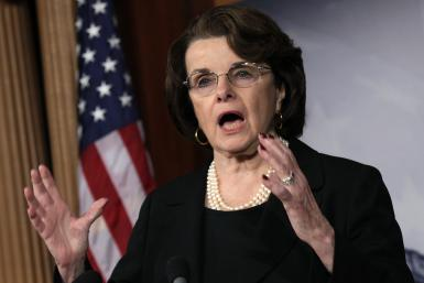 Sen. Dianne Feinstein, D-California