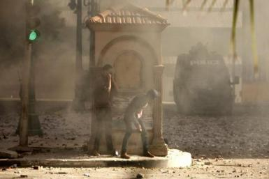 Egyptian Rioters-January 2013
