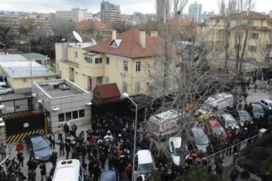 US Embassy Bombing In Ankara, Turkey