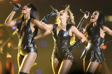 Destiny's Child At The Super Bowl