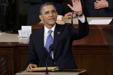 Obama At The 2013 State Of The Union Address
