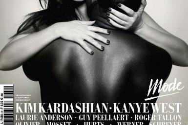 L'Officiel Hommes Cover Of Kardashian And West