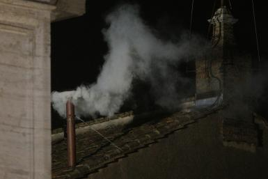 RomeWhite smoke 13Mar2013