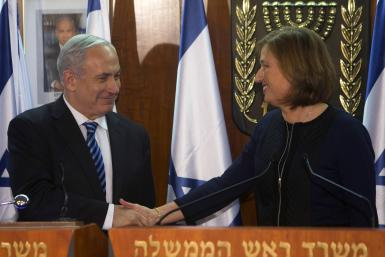 Netanyahu And Livni