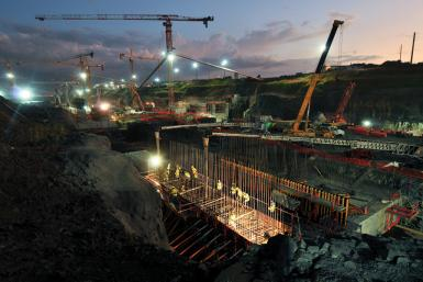 Panama Canal Third Set of Locks Project