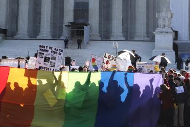 Supreme Court Gay Marriage 26March2013 banner