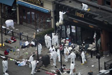 Boston Bombing forensic team 16April2013