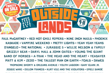 Outside Lands Lineup