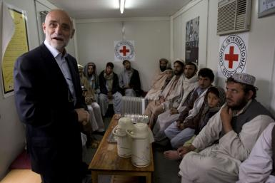 Red Cross in Afghanistan