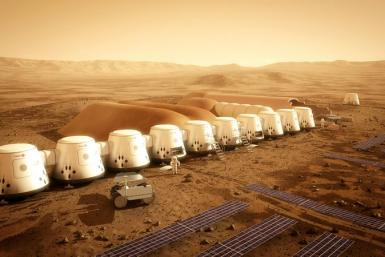 Mars One Colony Rendition