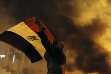 Egyptian Demonstrator-April 6, 2013