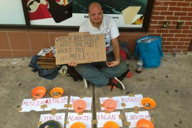 Homeless Man's Generosity Test