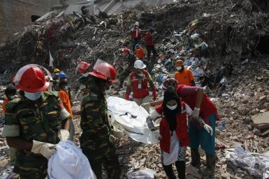 Bangladesh bldg collapse 3May2013