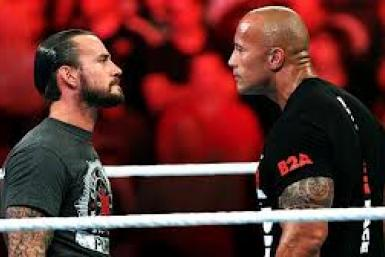 The Rock CM Punk